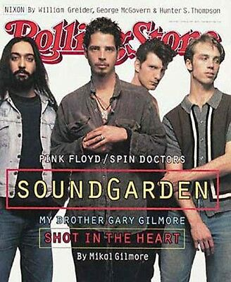 Rolling Stone Magazine Soundgarden No Labels Exc. Cond 1994