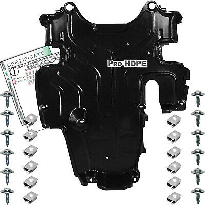Mercedes W 124 (1983-1995) Diesel UNDER  Gearbox COVER  new HDPE + CLIPS