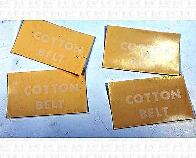 Enhorning S Decals White Cotton Belt 29 X 17 mm Herald Set