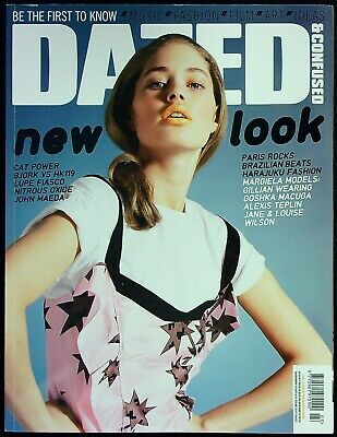 DAZED &CONFUSED 3/2006 DOUTZEN KROES Martin Margiela CAT POWER Chan Marshall NEW