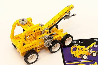 LEGO 8034 Technic Universal Set 1989 Classic Vintage Rare Lot Completed
