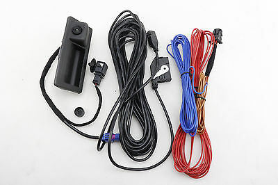 RVC REAR VIEW CAMERA + CABLE KIT FOR VW Volkswagen RCD510 RNS510 Tiguan Golf