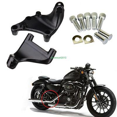 Siège Arrière Repose Pieds Support Pour 2014 Harley Sportster 883 1200