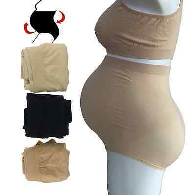 "3 Pcs ""Maternity Briefs"" Cotton Seamless Pregnancy High Waist Underwear Panties"