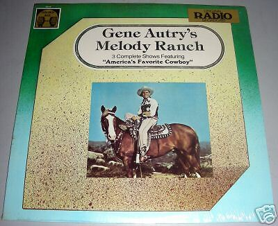 Gene Autry G.a.'s Melody Ranch Lp Golden Age Sealed
