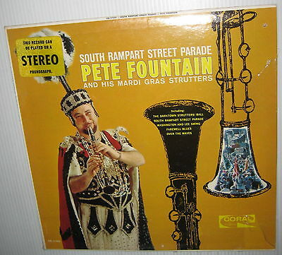 PETE FOUNTAIN & his Mardi Gras Strutters SOUTH RAMPART STREET PARADE Sealed LP