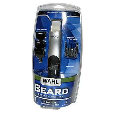 Wahl 9906-717 Groomsman Cordless/Battery Operated Beard and Mustache Trimmer NEW