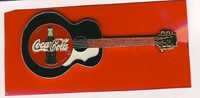 My Collection Sale - Coca Cola Guitar Lapel Pin