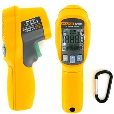 New Fluke 62 Max Plus (+) Dual Laser Infrared Thermometer