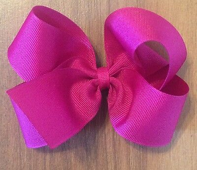 Lot Of 8 Medium Toddler Girl's Hairbows Hair Bows Bows ~U Pick From 75 Colors