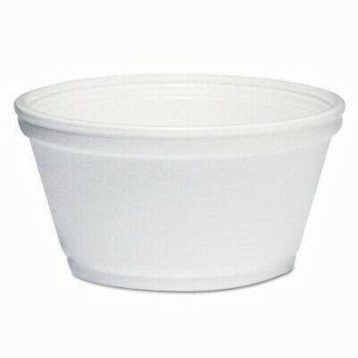 Dart Foam Container, 8oz, White, 1000/Carton (DCC8SJ20)