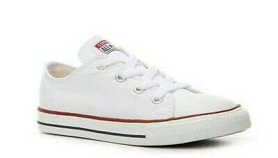 Boy's/Girl's Youth CONVERSE Chuck Taylor All Star 3J256 WHITE Casual Shoes New
