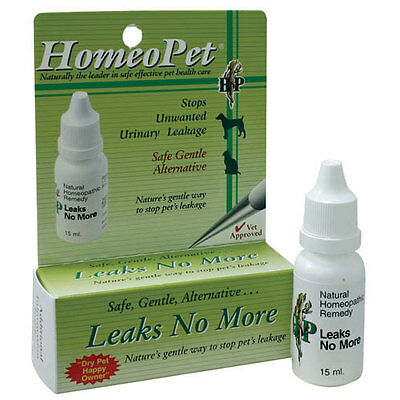 Homeopet Leaks No More Drops 15ml