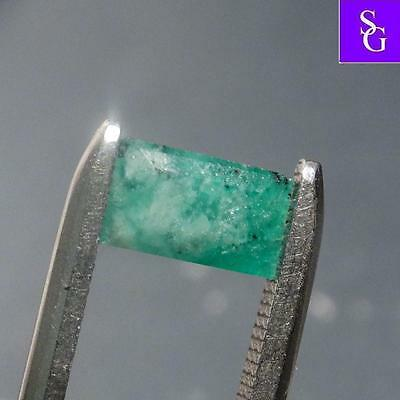 "Columbian Faceted Natural Emerald 1.01 ct ""Stunning_Gemstones"""