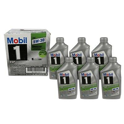 VW RECOMMENDED 5W-30 Castrol Edge Professional Synthetic Motor Oil CASE OF 6 NEW