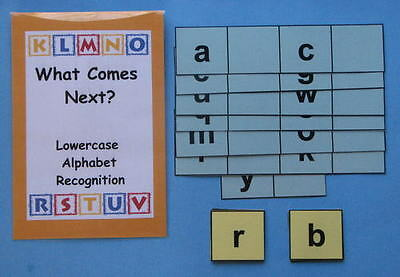 Teacher Made Literacy Center Resource Game Alphabet Recoginition Lowercase