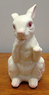 Vintage Napco Standing White Rabbit Figurine Made In Japan #C-6390 RARE