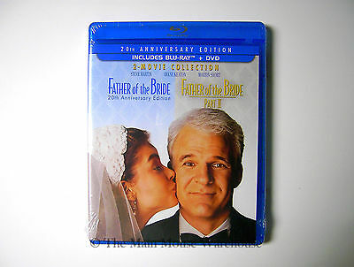 The Father of the Bride and Father of the Bride II 2 Movie blu-ray Collection