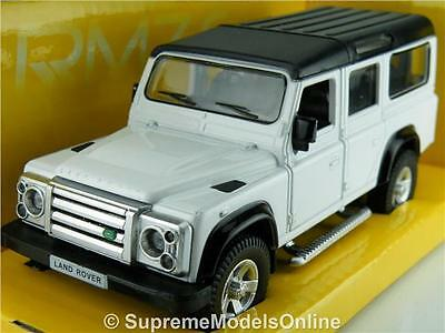Land Rover Defender Lwb Model Car 1/36Th Scale White Packaged Issue K8967Q~#~