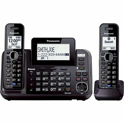 Panasonic KX-TG9542B Link2Cell Bluetooth  2-Line Phone with Answering Machine