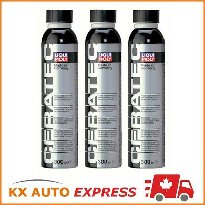 3x Liqui Moly Ceratec Oil Additive Treatment Ceramic Wear Protection 300ml