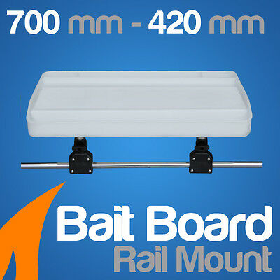 Extra Large Bait Board Rail Mount---Boat/Fishing/Cutting
