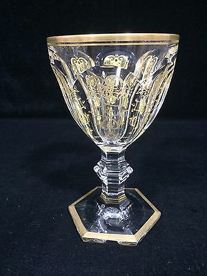 Baccarat Crystal Harcourt Empire Goblet/Wine Glass  1 pc, 5 available