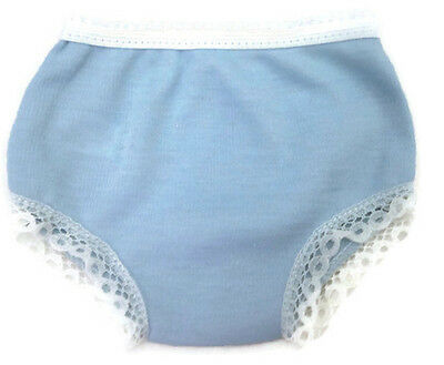 "Light Blue Cotton Knit Panty made for 18"" American Girl Doll Clothes Accessory"