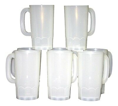 100 Large 22 Ounce Beer Mugs-Steins MFG USA Wholesale Lot  Dishwasher Safe