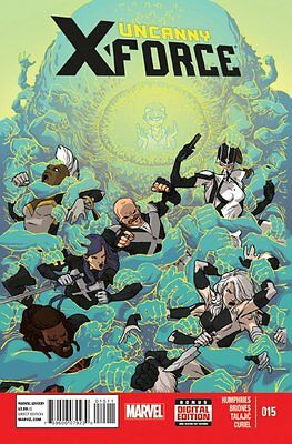 Uncanny X-Force #15 by Humphries, Briones, Talajic & Curiel