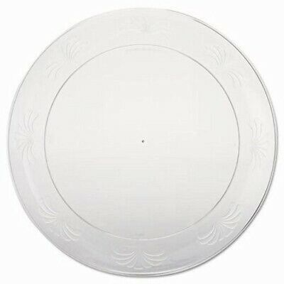 Wna Designerware Plastic Plates, 9 Inches, Clear, 180 Plates (WNADWP9180)