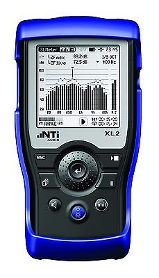 NTI XL2 Professional Acoustic Analyser Sound Pressure Level Meter Audio Testing