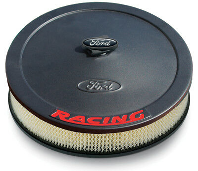 """Proform Air Cleaner Assembly 302-383; Ford Racing Polished Aluminum Round 13x3/"""""""
