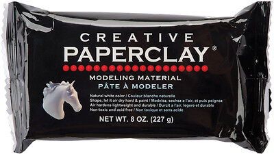 M00079 MOREZMORE 8 oz Creative Paperclay Air Dry Paper Clay Art Doll Sculpting
