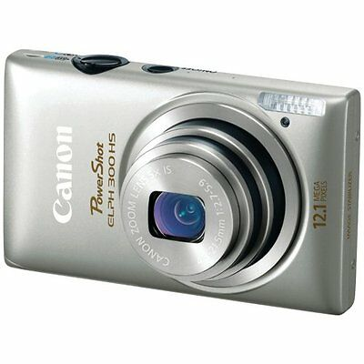 Canon PowerShot ELPH 300 HS 12.1 MP CMOS Digital Camera with Full 1080p HD Video