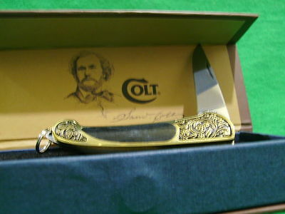 Beautiful Colt pocket knife gift case Free Shipping USA