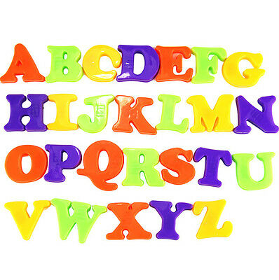 Early Chiled Toys 26x Magnetic Letters Lower Case Alphabet Magnets Fridge