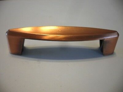 Vintage 1960s NOS Satin Antique COPPER DRAWER or Cabinet Door PULLS Handles AJAX
