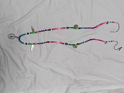 Horse Necklace Speed Rhythm Beads/bells Training/trail Aid  Multicolor Fun