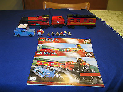 LEGO Harry Potter Hogwarts Express #4841 train and car
