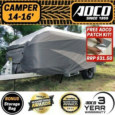 ADCO 14-16 ft Premium Camper Trailer Cover Suits  Jayco Swan, Flamingo & Penguin