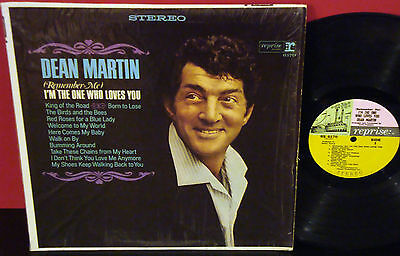 DEAN MARTIN I'm The One Who Loves You REPRISE STEREO LP SIS
