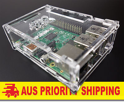 LearCNC - High Quality Case / Box / Enclosure for Raspberry Pi 3 / 2 Plus (B+)