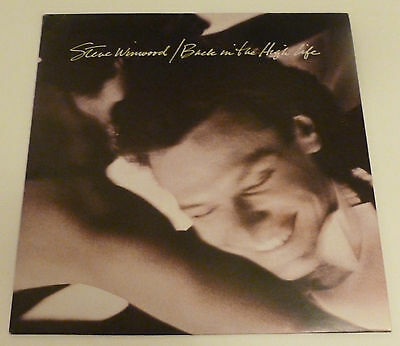 Steve Winwood - Back in the high life    UK VINYL LP
