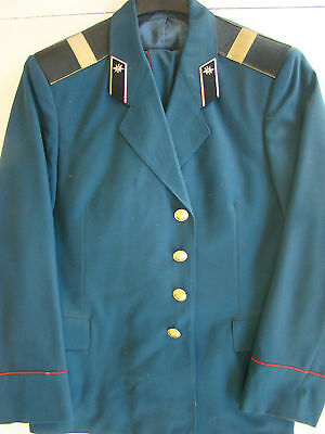 USSR CCCP SOVIET ARMY SIGNALS NCO 1977 JACKET & BREECHES BELOW COST GIVE-A-WAY!