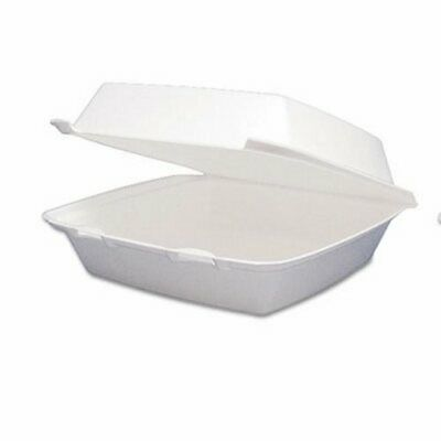 Dart Carryout Food Container, Foam Hinged 1-Comp, 200 Containers (DCC95HT1R)