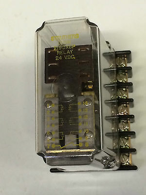 Struthers-Dunn 219DXBP-24VDC, Relay, 4 NO, 2 NC,  Includes 33377 Socket