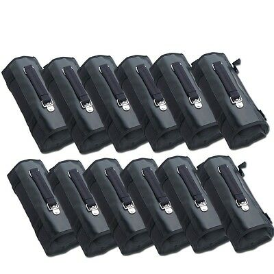 WHOLESALE LOT SET of 12 Knife Rolls Carrying Case Bag holds a total 288 knives
