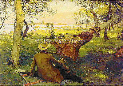 Carl Larsson Krouthen2 Artist Painting Reproduction Handmade Oil Canvas Repro