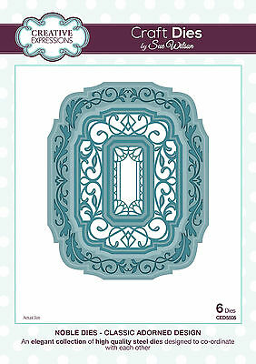 CREATIVE EXPRESSIONS Craft Dies Sue Wilson THE NOBLE COLLECTION *CLEARANCE